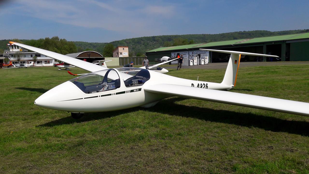 Segelflugzeug ASK21 Aero-Club Gelnhausen