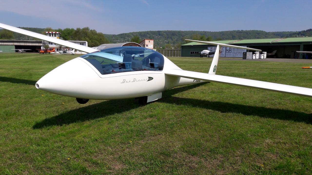 Segelflugzeug Duo Discus Aero-Club Gelnhausen