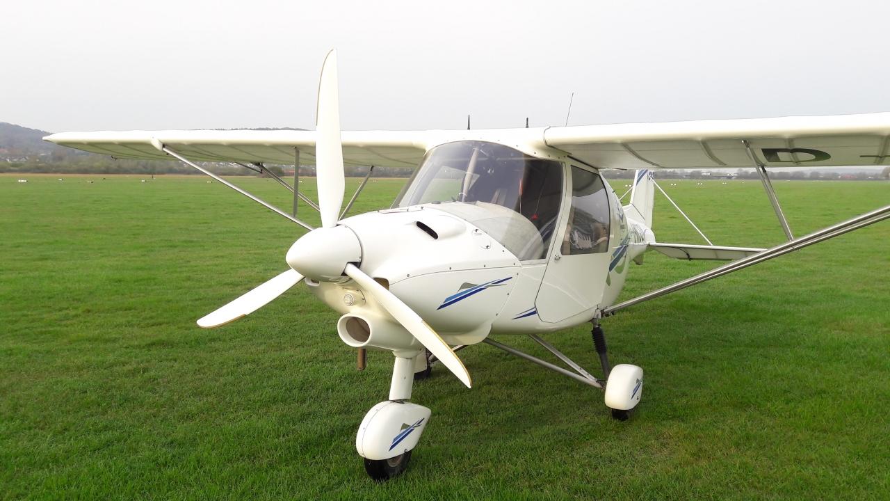 Ultaleichtflugzeug Aero-Club Gelnhausen